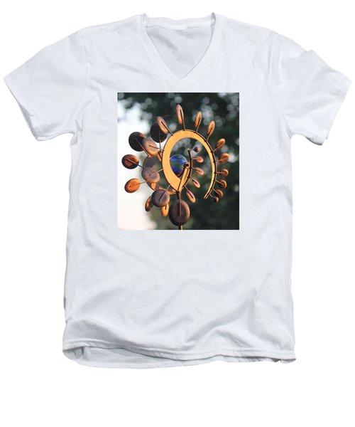 Whirlygig Men's V-Neck T-Shirt