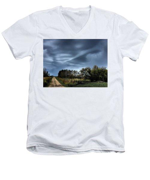Whirrelll Men's V-Neck T-Shirt