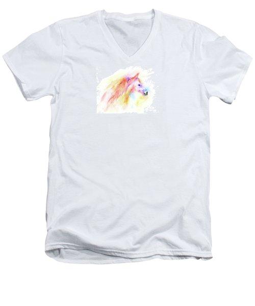 Whisper Men's V-Neck T-Shirt