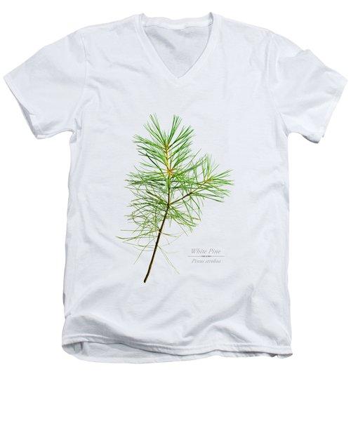 White Pine Men's V-Neck T-Shirt