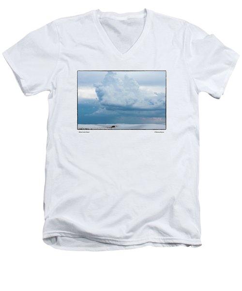 White Sands Cloud Men's V-Neck T-Shirt
