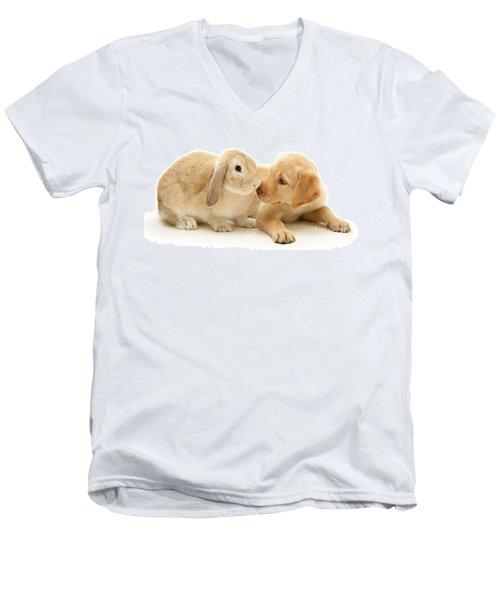 Who Ate All The Carrots Men's V-Neck T-Shirt