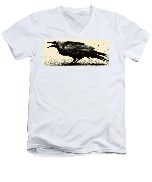 Who Calling Men's V-Neck T-Shirt