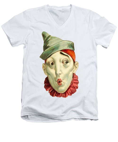 Who Me? Men's V-Neck T-Shirt