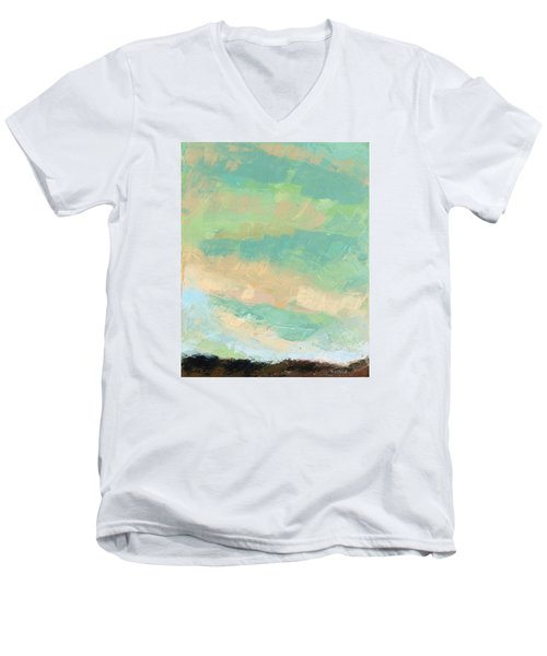 Wholeness Men's V-Neck T-Shirt by Nathan Rhoads
