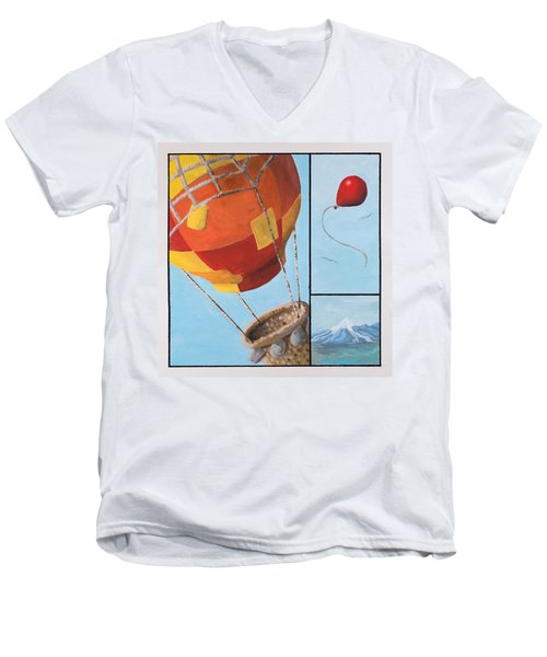 Who's Flying This Thing? Men's V-Neck T-Shirt