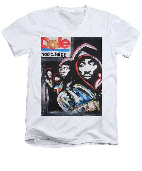 Whos Got Juice Men's V-Neck T-Shirt