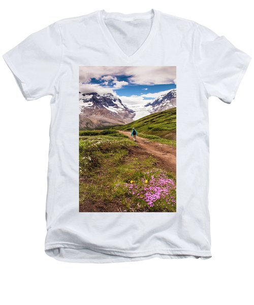 Wilcox Pass Men's V-Neck T-Shirt