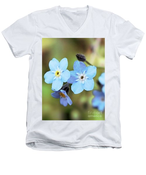 wild and Beautiful 4 Men's V-Neck T-Shirt