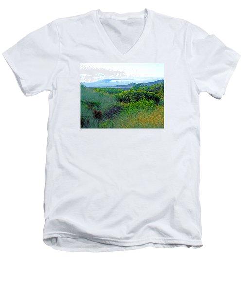 Wild Coastal Flora Men's V-Neck T-Shirt