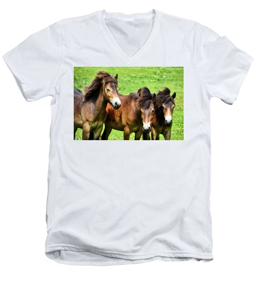 Wild Horses 2 Men's V-Neck T-Shirt