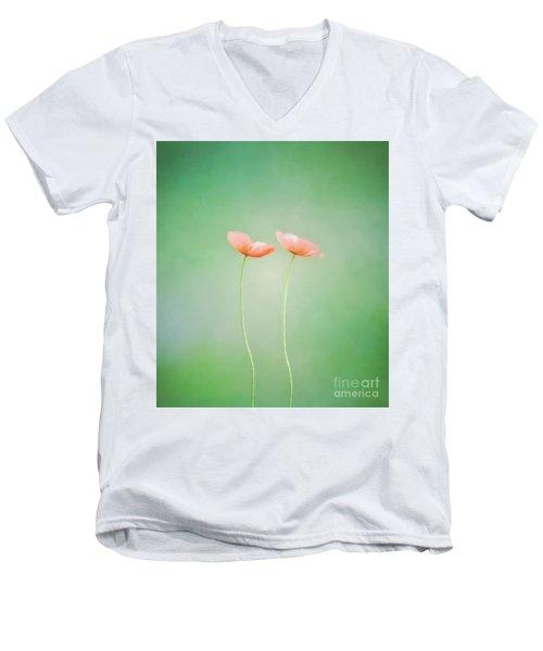 Wildflower Duet Men's V-Neck T-Shirt