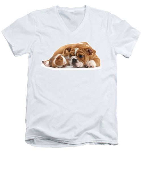 Will You Be My Friend? Men's V-Neck T-Shirt