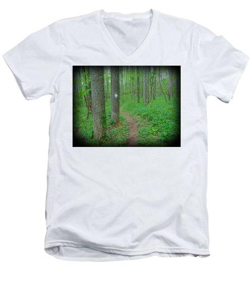 Wilscot Men's V-Neck T-Shirt