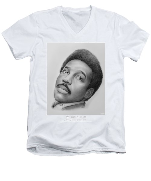 Wilson Pickett Men's V-Neck T-Shirt