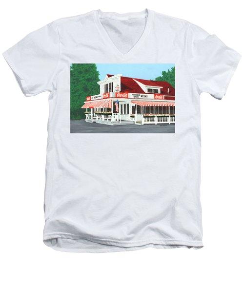 Wilson's Men's V-Neck T-Shirt