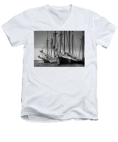 Windjammer Fleet Men's V-Neck T-Shirt