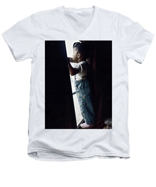 Window Shopping Men's V-Neck T-Shirt