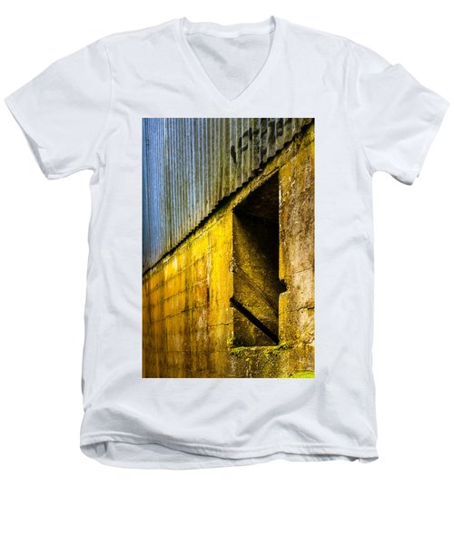 Window To The Past Men's V-Neck T-Shirt