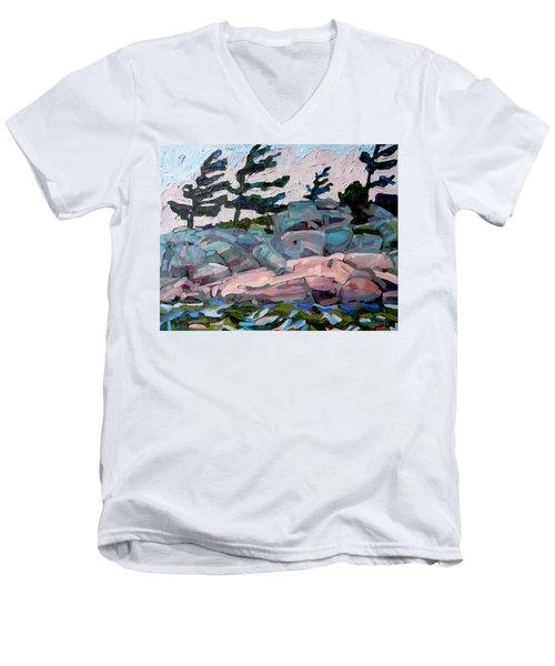 Windy Island Men's V-Neck T-Shirt