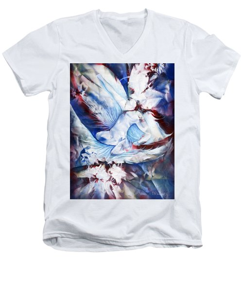 Wing Rider Men's V-Neck T-Shirt
