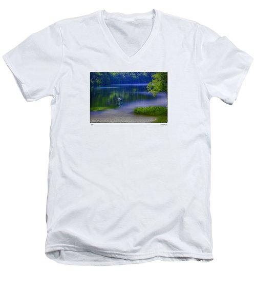 Wings Men's V-Neck T-Shirt by R Thomas Berner