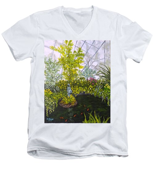 Winter At Allan Gardens Men's V-Neck T-Shirt