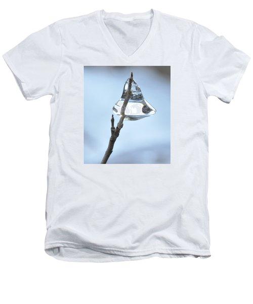 Men's V-Neck T-Shirt featuring the photograph Christmas Bells by Glenn Gordon