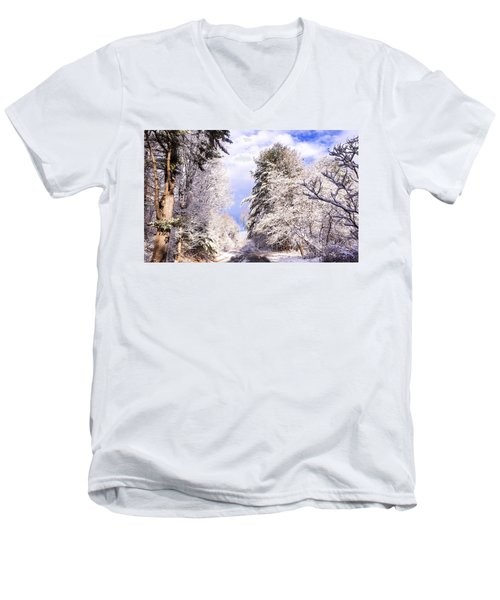 Winter Drive Men's V-Neck T-Shirt