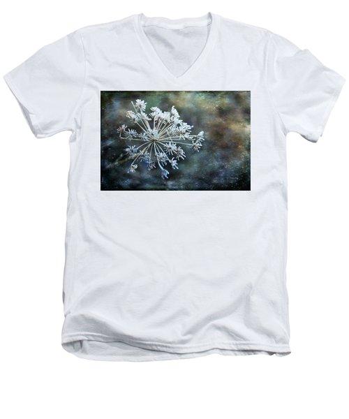 Winter Flower Men's V-Neck T-Shirt