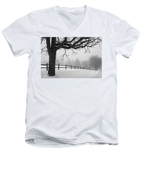 Winter Fog Men's V-Neck T-Shirt