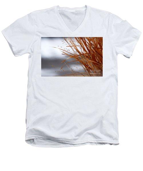 Winter Grass - 2 Men's V-Neck T-Shirt