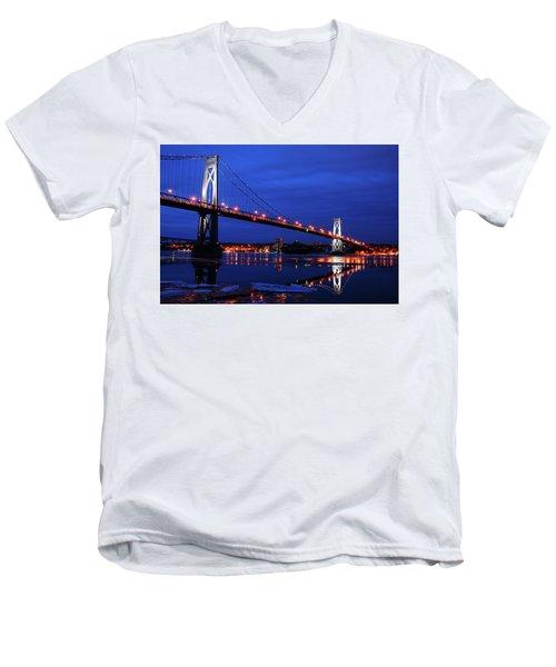 Winter Refelctions Men's V-Neck T-Shirt