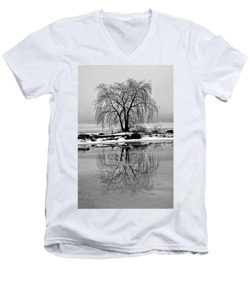 Winter Reflections Men's V-Neck T-Shirt