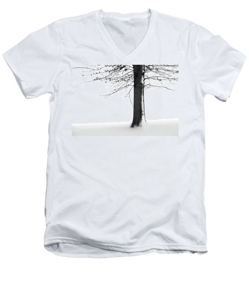 Winter Solitude Men's V-Neck T-Shirt