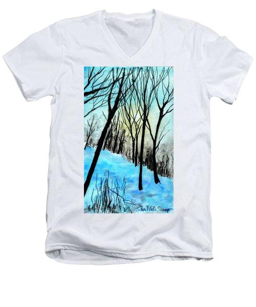 Winter Sunlight Men's V-Neck T-Shirt