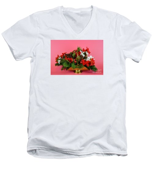 Wishes Of Joy For You Men's V-Neck T-Shirt by Ray Shrewsberry