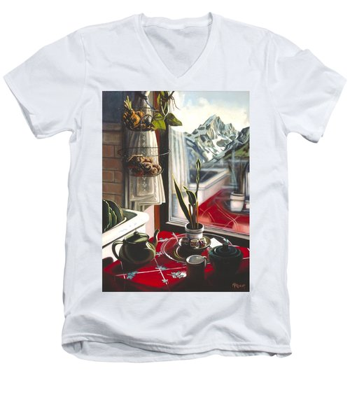 Wishful Thinking Men's V-Neck T-Shirt