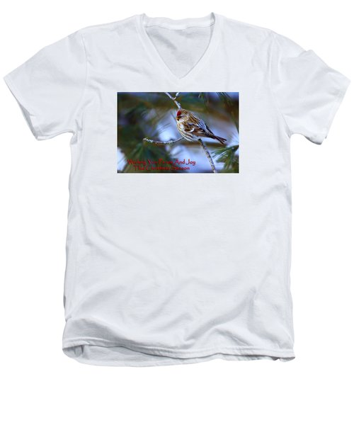 Men's V-Neck T-Shirt featuring the photograph Wishing You Peace And Joy by Gary Hall