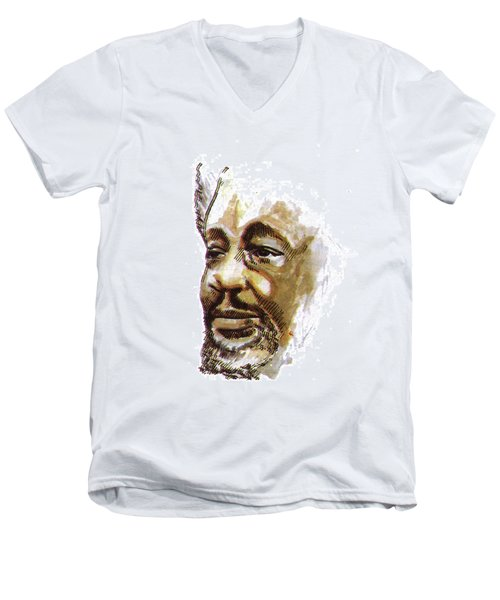 Wole Soyinka Men's V-Neck T-Shirt