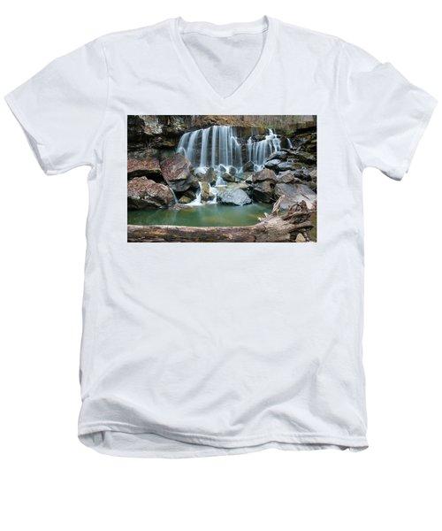 Wolf Creek Falls Men's V-Neck T-Shirt