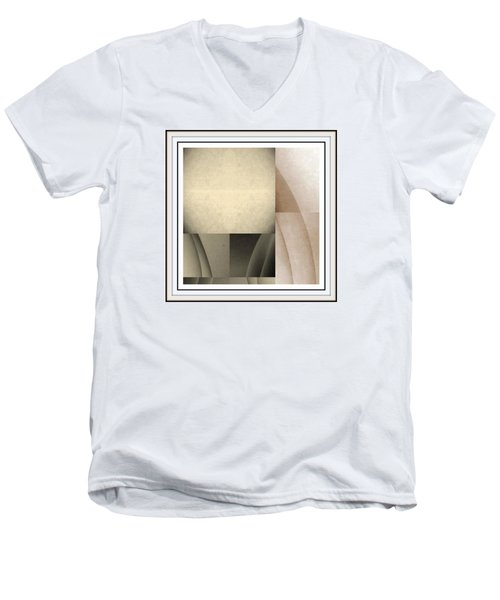 Men's V-Neck T-Shirt featuring the photograph Woman Image Fivve by Jack Dillhunt