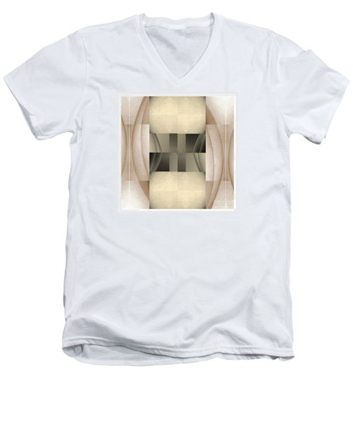Woman Image Seven Men's V-Neck T-Shirt by Jack Dillhunt