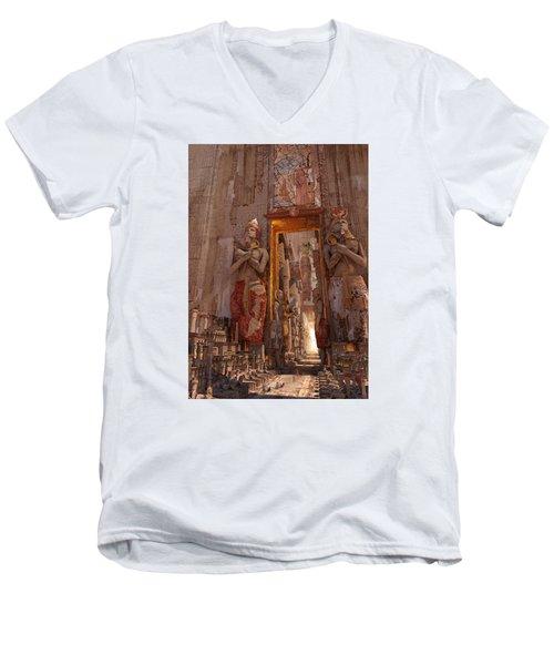 Wonders Door To The Luxor Men's V-Neck T-Shirt