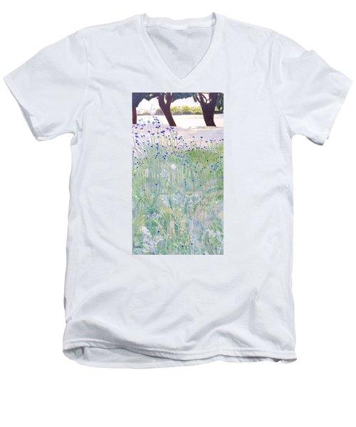 Woodford Park In Woodley Men's V-Neck T-Shirt