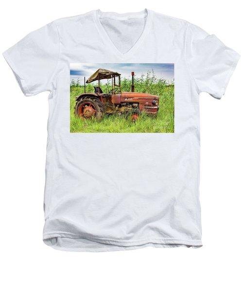 Workhorse Men's V-Neck T-Shirt