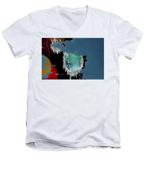 World Where Are You Men's V-Neck T-Shirt