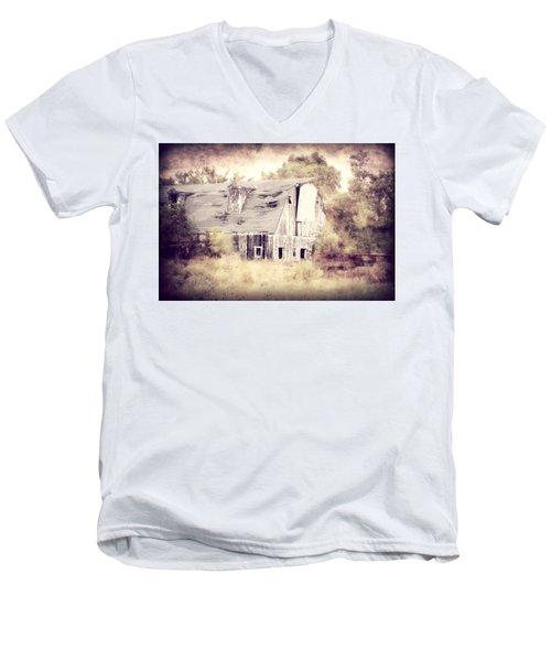 Worn Out Men's V-Neck T-Shirt