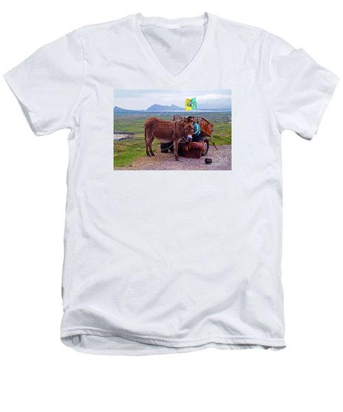 Would You Like A Ride In Ireland Men's V-Neck T-Shirt