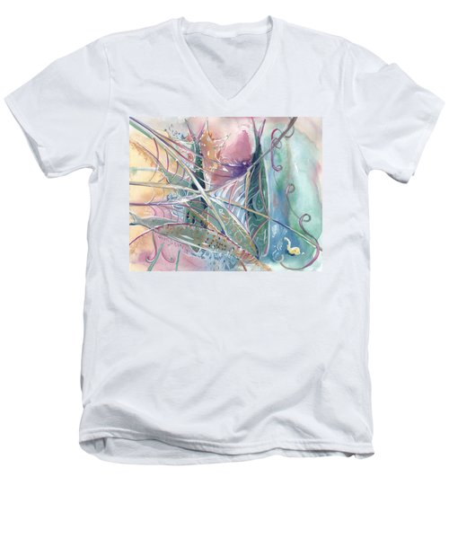 Woven Star Fish Men's V-Neck T-Shirt